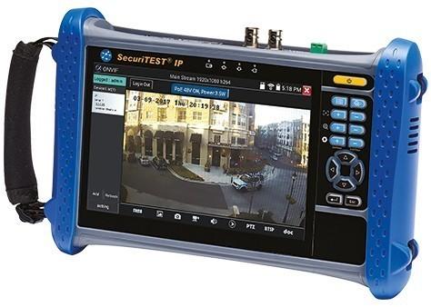 Testeur De Cameras De Videosurveillance Securitest Ip