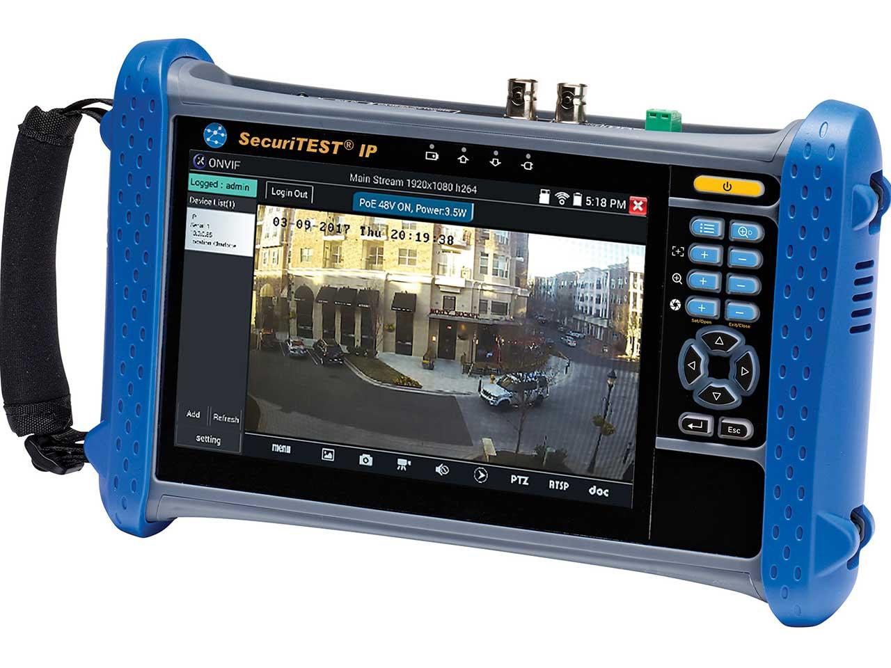 CCTV Tester - SecuriTEST IP - IDEAL Networks